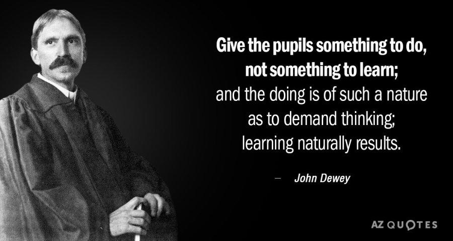 Dewey's Philosophy and the IB Education – MITCHEL AFRICA
